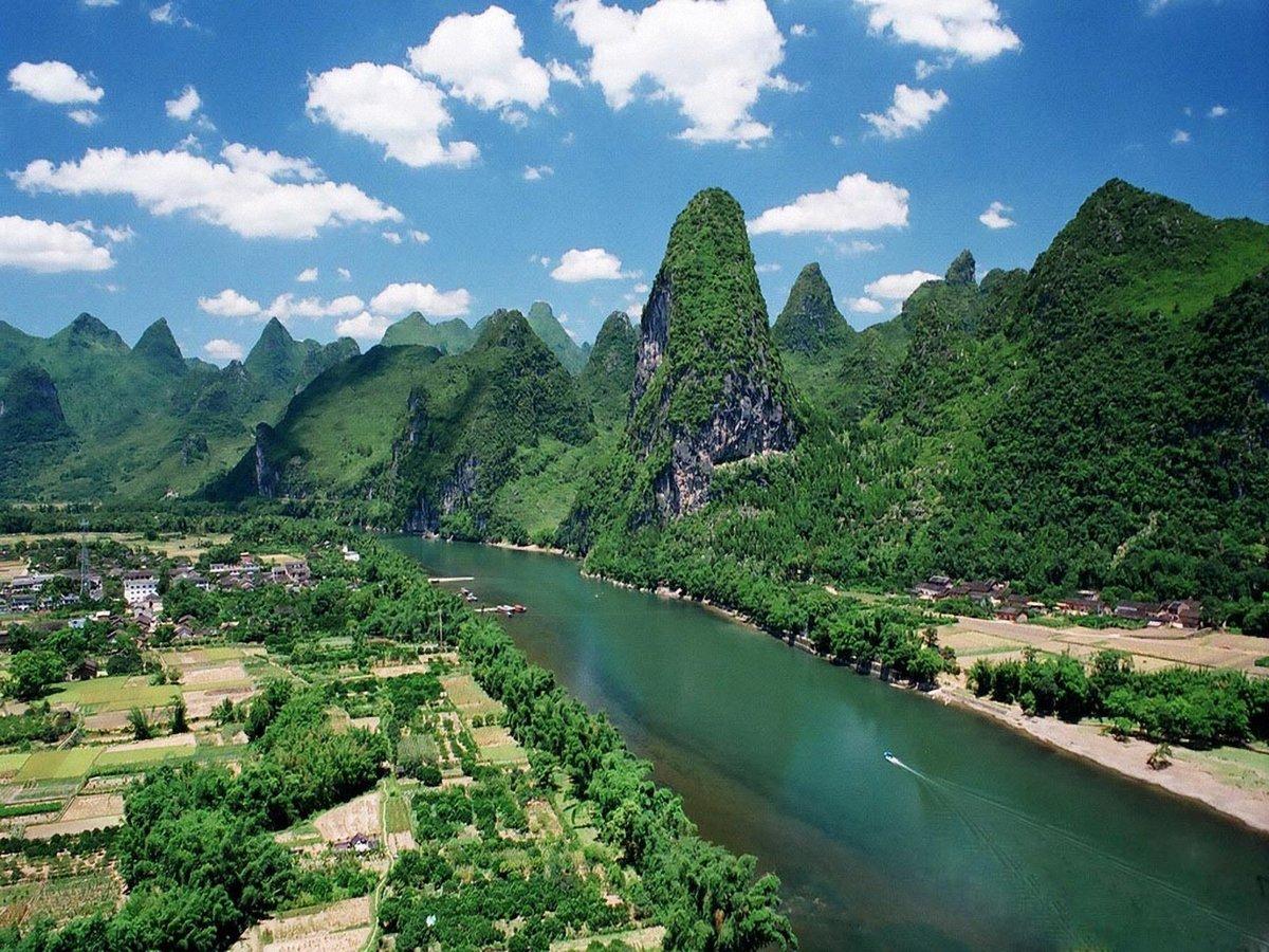 самые красивые места китая фото последнее