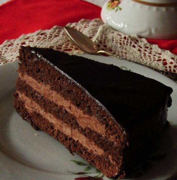 Торт пражский по госту рецепт с фото