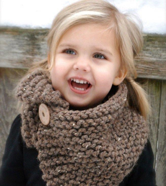 Вязание для детейшарф