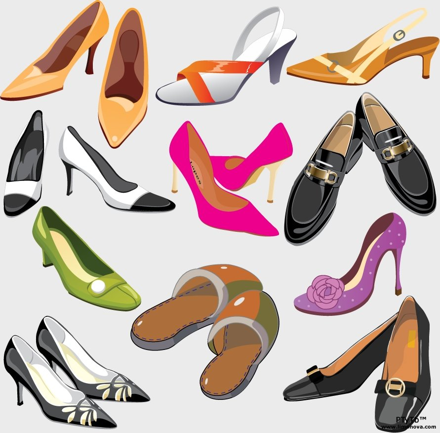 Р картинки с обувью