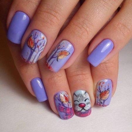 Дизайн ногтей на каждый день 2017