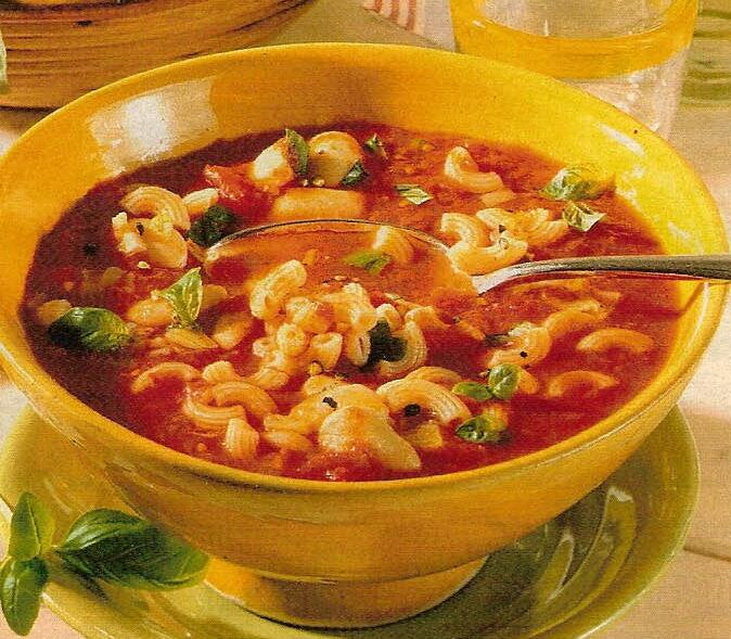 Молочный суп с рожками рецепт с фото