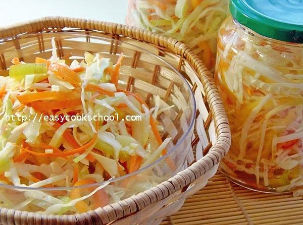 Салат провансаль из капусты на зиму