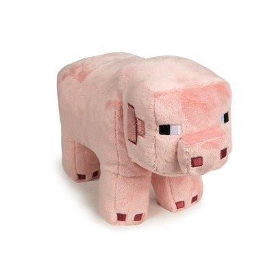 Плюшевая Свинка из популярной игры Майнкрафт. Свинка размером 30см из очень качественного плюша и синтепоновым наполнителем.