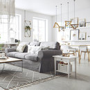 Графичные принты, теплые акценты, вязаный текстиль и напольный декор – рассказываем о свежих решениях для вашего дома в скандинавском стиле
