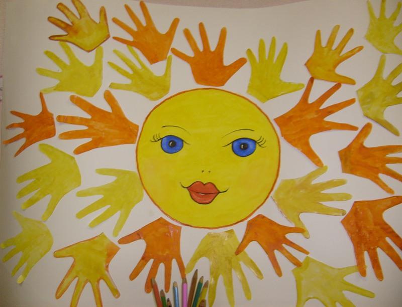 Днем рождения, открытка на день матери солнышко