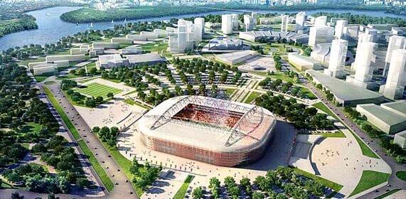 Стадионы-2018 :: Футбол на Soccernews.ru