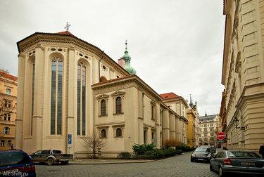 церкви св. кирилла и мефодия в праге