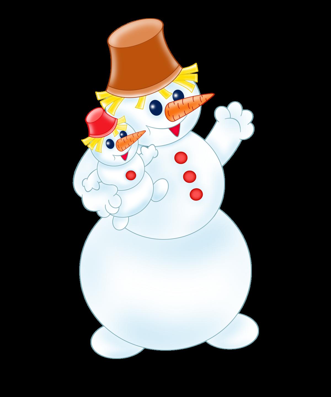 Картинка для детей снеговик