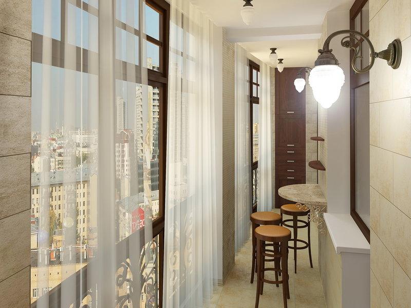 Ремонт лоджии в квартире: фото идеи дизайна и видео уроки.