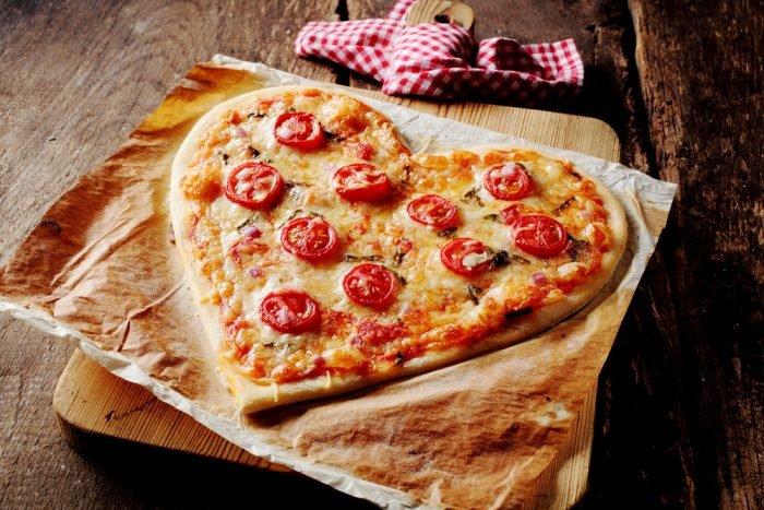 піца серце