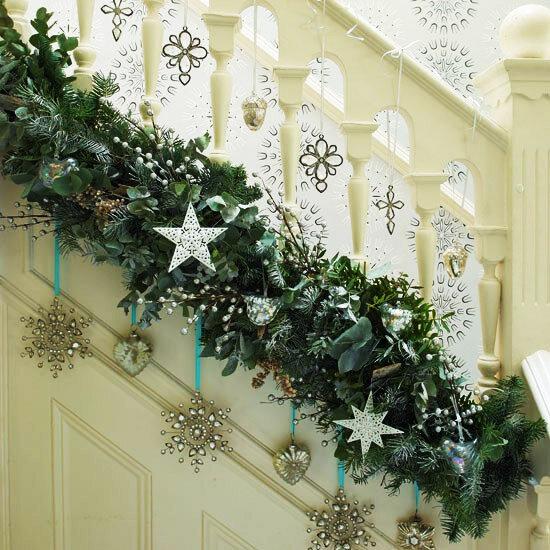 Шикарный декор лестницы
