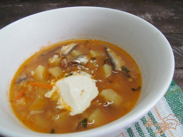 Суп из пшена и риса
