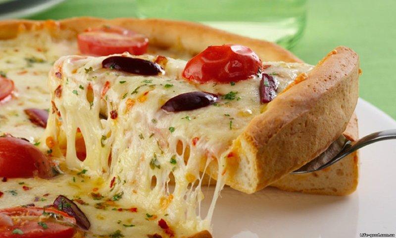 Пицца без сыра рецепт с фото пошагово