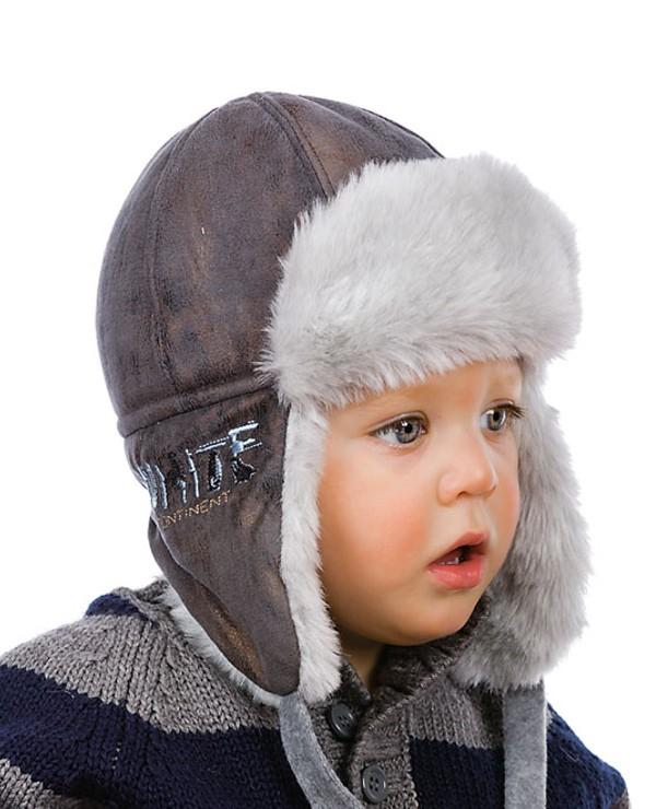 шапки для мальчиков зима 3