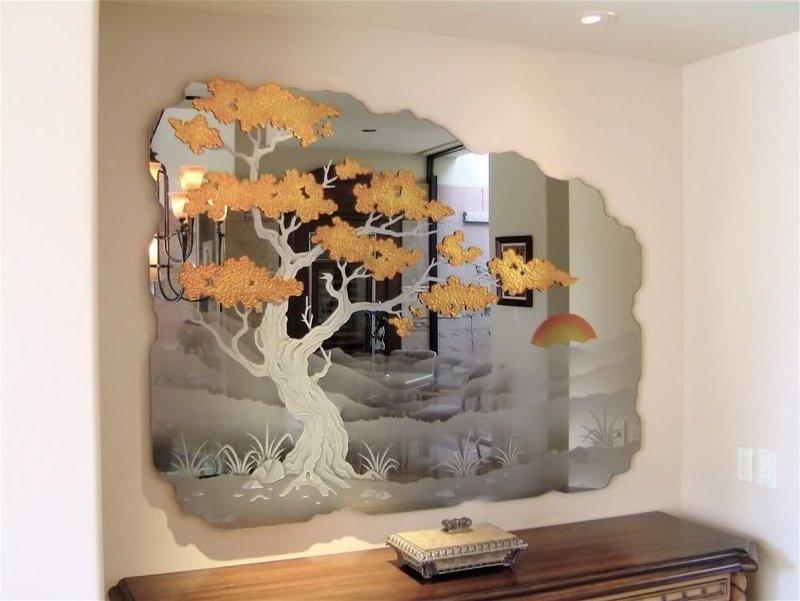 Зеркала для интерьера на стену - Зеркала на стену Заказать и