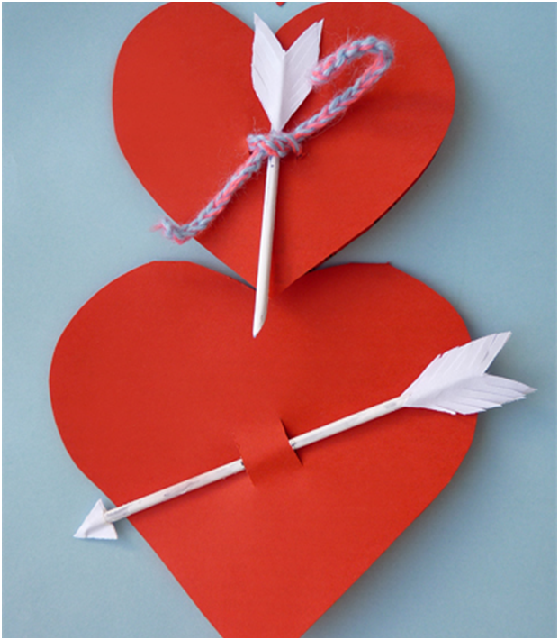 Открытки с днем святого валентина своими руками из бумаги детям, картинки про