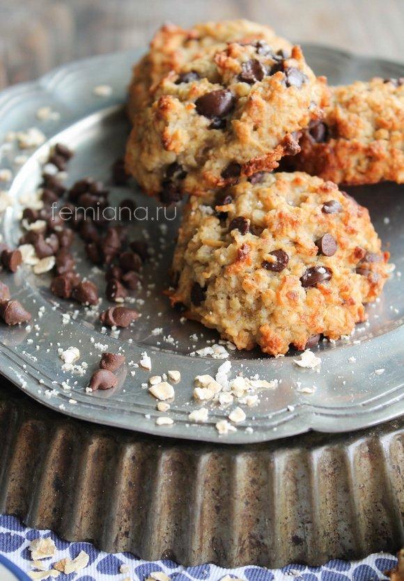 Овсяные печенье без муки рецепты 4