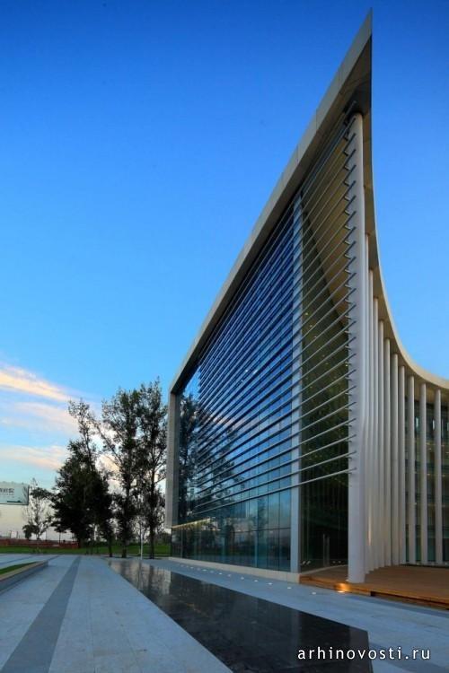 Офисное здание Haхi от ZNA. Харбин, Китай.