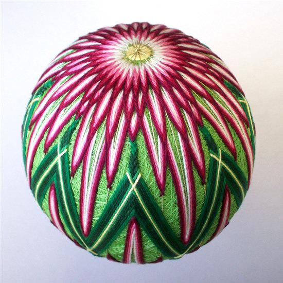 Вышитые шары темари - традиционное японское искусство