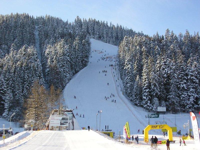 польша лыжный курорт фото