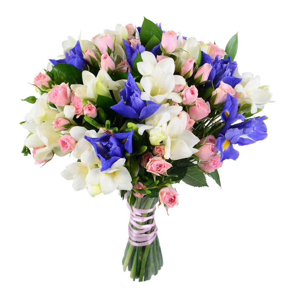 Розы оптом, свадебные букеты доставка в москве