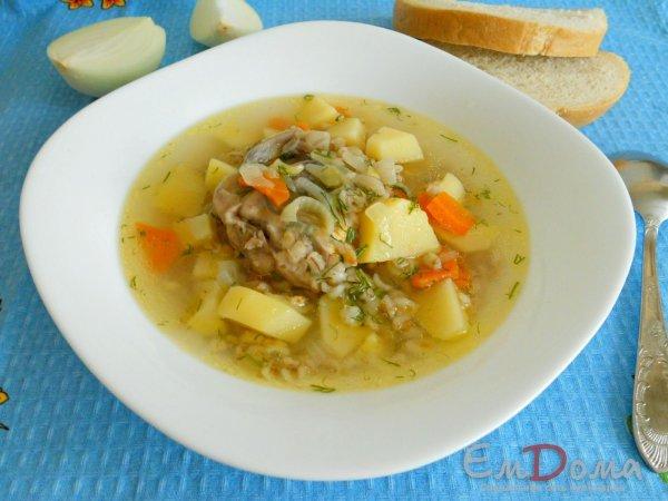 суп из перловки рецепт приготовления в домашних условиях