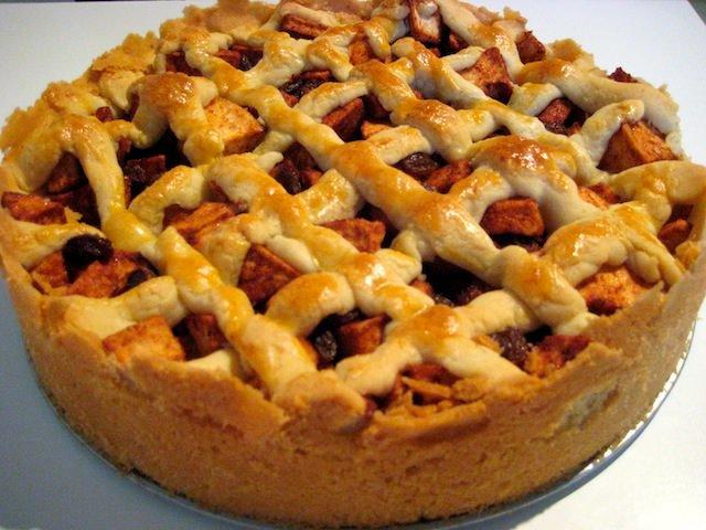 рецепт яблочного пирога в духовке с фото