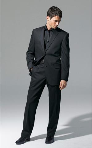 черные мужские костюмы фото