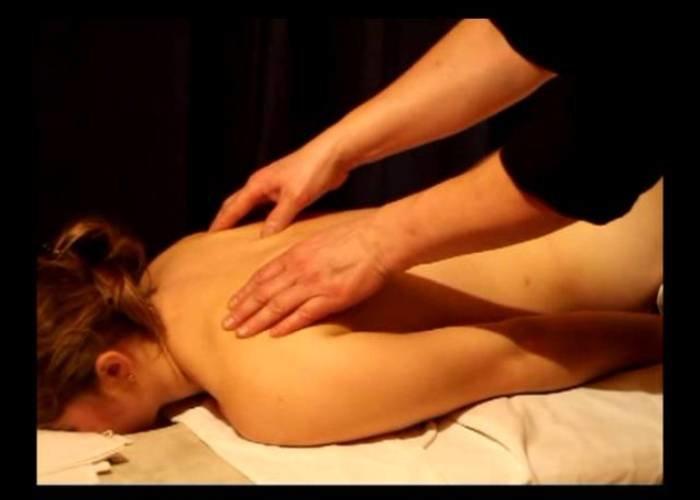 Пришла на массаж первый раз видео совсем