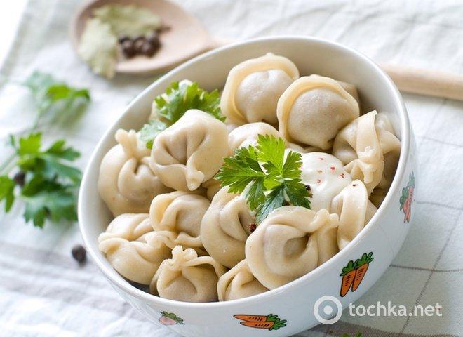 Домашние пельмени классический рецепт пошагово 54