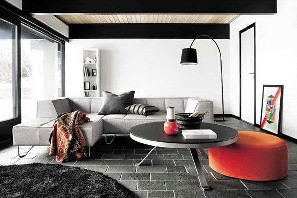 Расстановка мебели по принципу симметрии
