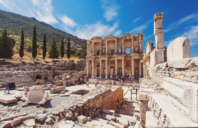 Древний город Эфес, Сельчук, Турция