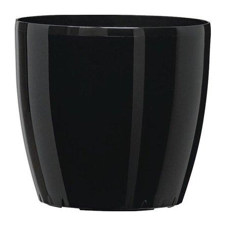 Горшки для цветов черные 51