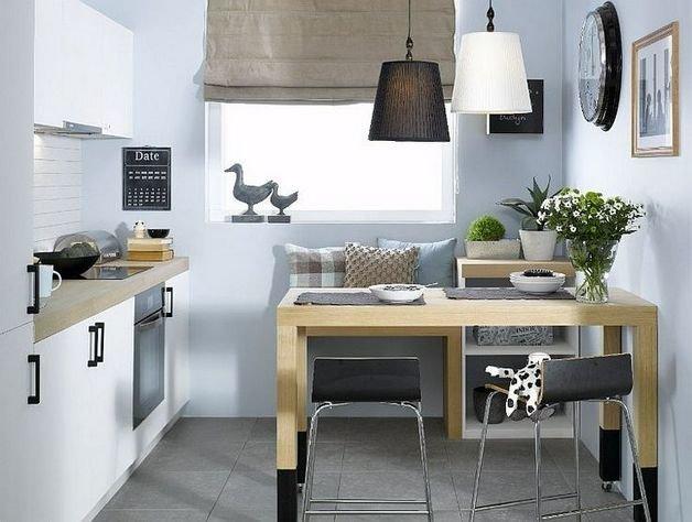 Маленькая кухня. Дизайн интерьера маленькой кухни 6 кв