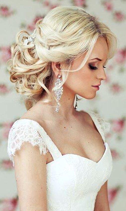 Причёски на свадьбу невесты