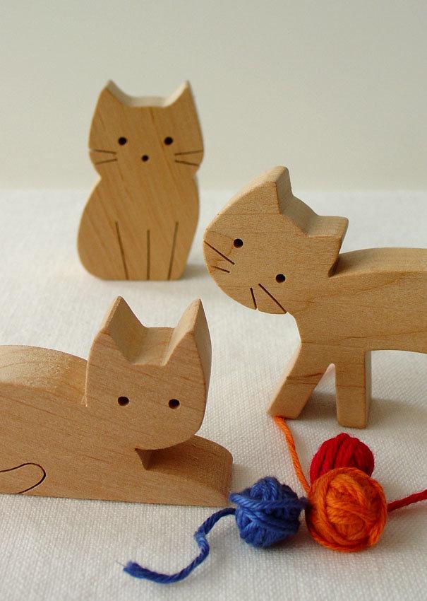 картинка деревянного кота каких случаях следует