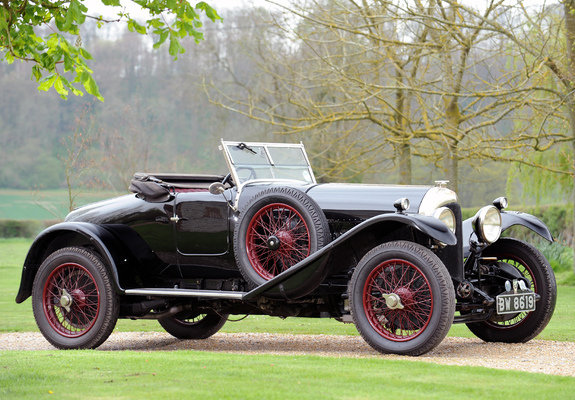 Bentley 3 Litre Speed Model Sports 2-seater by Park Ward