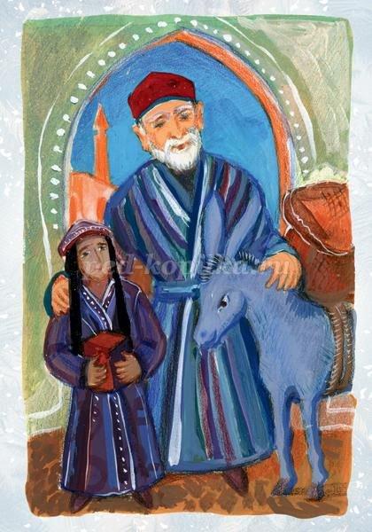 новогодние открытки узбекистан