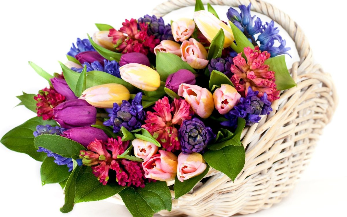Букеты из цветов картинки поздравления