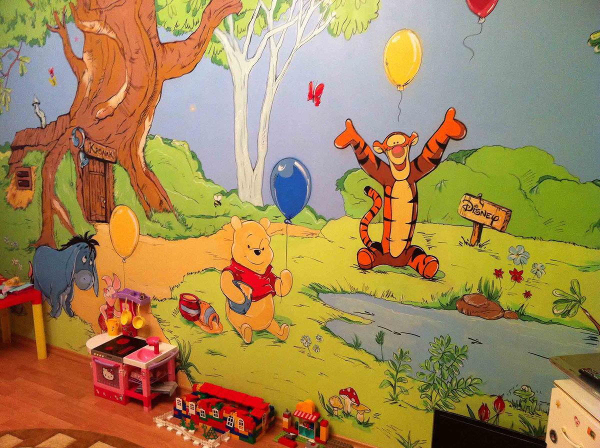 Картинки на стену в детскую комнату своими руками, про похудение