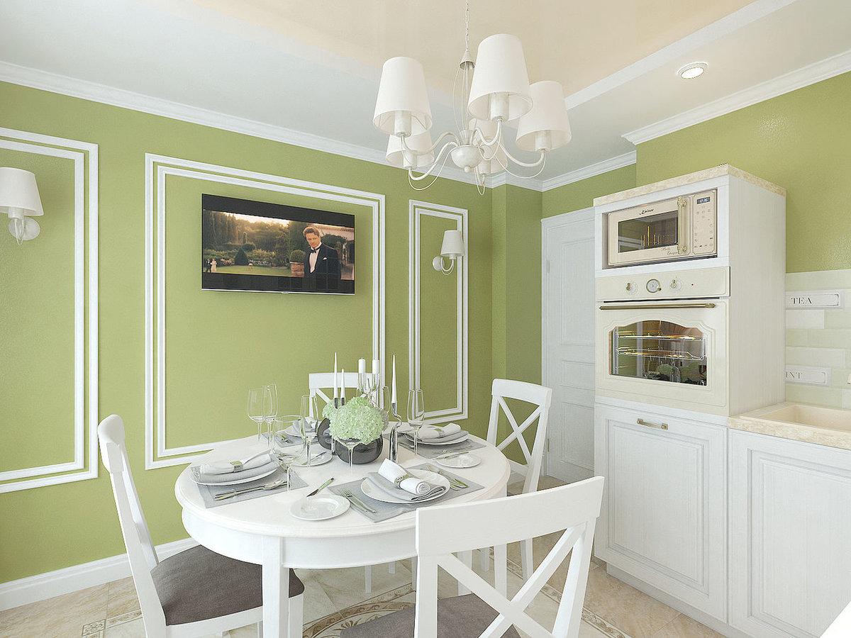 Покраска кухни с картинками