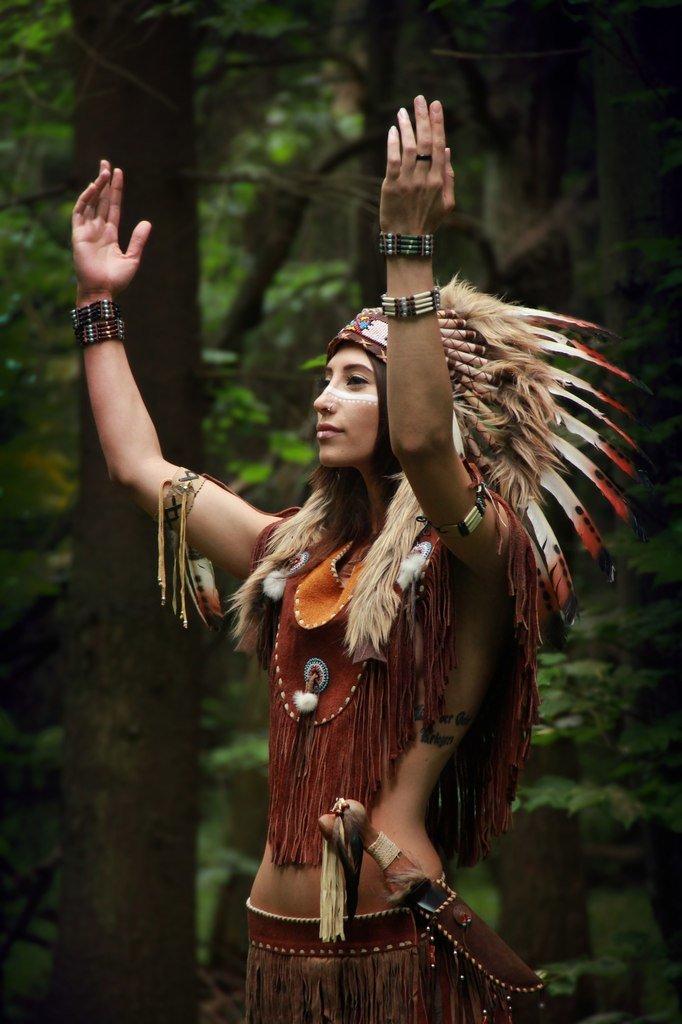 фотосессия в роли индейца если есть желание