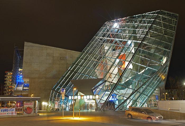 Кинотеатр «УФА-Паласт» в Дрездене
