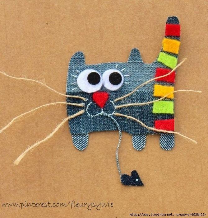 День рождения, открытки котики своими руками