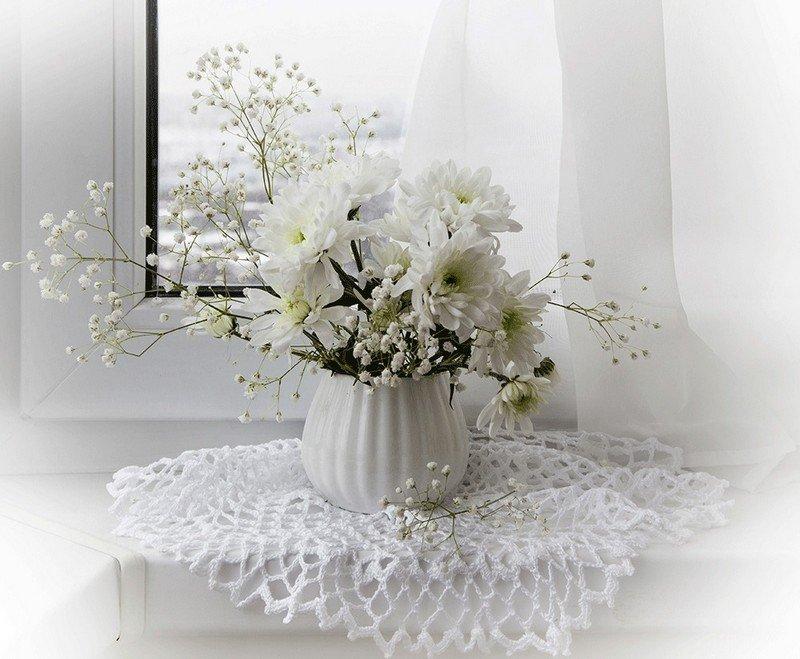 Белоснежные открытки с цветами, страстной пятницы