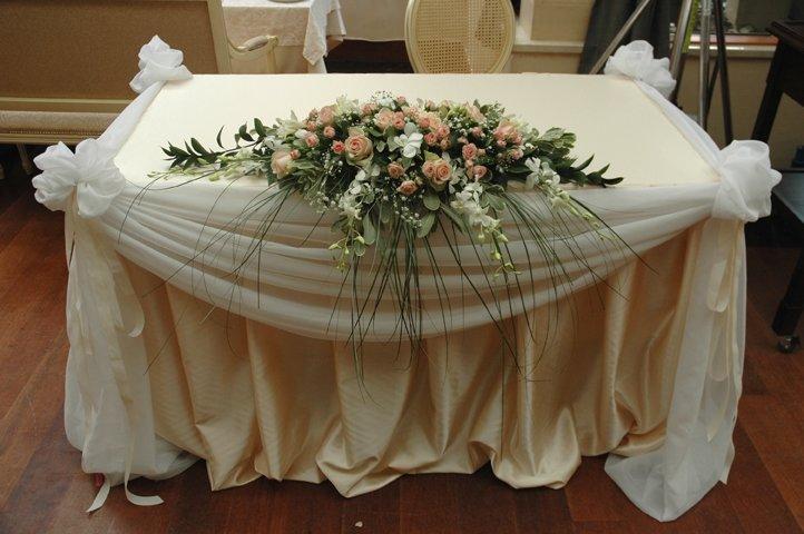 Как сшить скатерть для свадебного стола своими руками фото