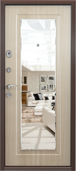 Металлическая входная дверь Torex SUPER DELTA Mirror. В наличии от 19 450 рублей. Звоните: ☎ 8 800 100 45 05. Гарантия до 7 лет!