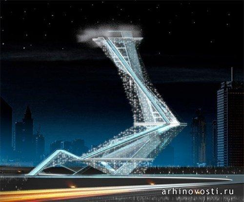 Дубай | Архитектура и дизайн | Архиновости Невеста (Bride of Dubai), Нью Вейв Аркитекче (New Wave Architecture),
