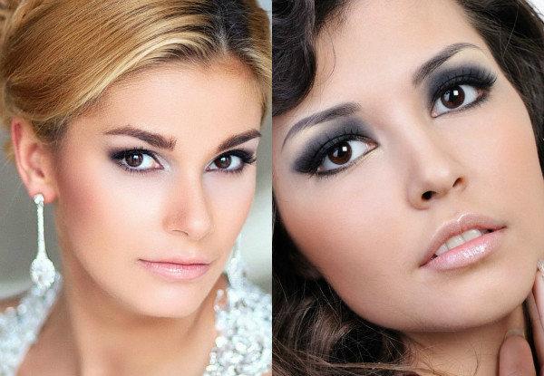 рассчитывается стоимость макияж для карих глаз и обвисших век писи анусы девушек